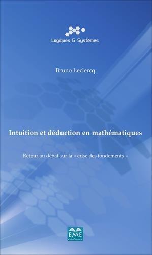 Intuition et dduction en mathmatiques