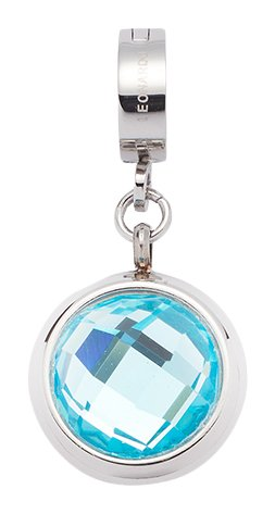 Leonardo Jewels Damen Anhänger Darlin's Lenta Edelstahl Glas blau 015885