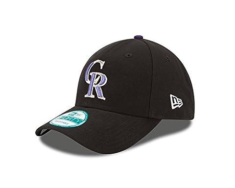 New Era The League Colorado Rockies Gm - Casquette pour Homme, couleur Noir, taille OSFA