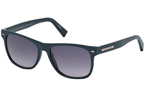 Ermenegildo zegna occhiali hombre u blue ez0020-91b-tu