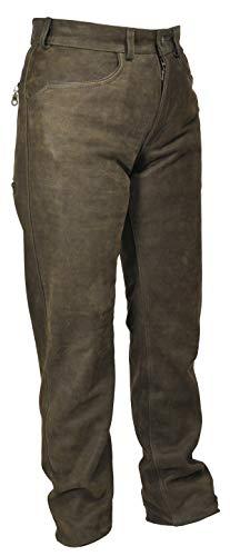 La Chasse | Lederhose aus Büffelleder für Herren | extrem strapazierfähig | Trachtenhose | Büffellederhose...