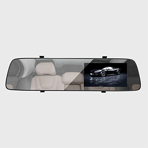 Ronshin Autozubehör, A5, 4,5 Zoll IPS-Bildschirm, Full HD, Auto-Rückspiegel, Digitaler Videorekorder, Camcorder