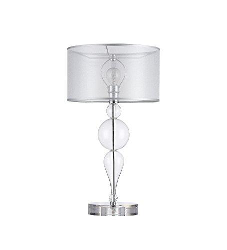 Maytoni MOD603-11-Lampe à poser, lampe de table, lampe de chevet, style baroque, Armature en metal et en verre 1xE14 40W 220-240V