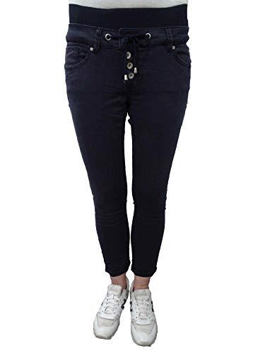 Buena Vista Malibu Slack 3/4 Sweat Jogg Pants Twill Hose Dark Blue XS - 3/4 Sweat