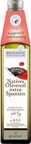 Bio Planète Olivenöl nativ extra Spanien, 2er Pack (2 x 500 ml)