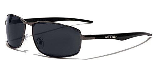 Xloop Sonnenbrillen Aviator - Stadt - Mode - Fashion - Verhaltenskodex - Moto - Strand / 4270 Platin