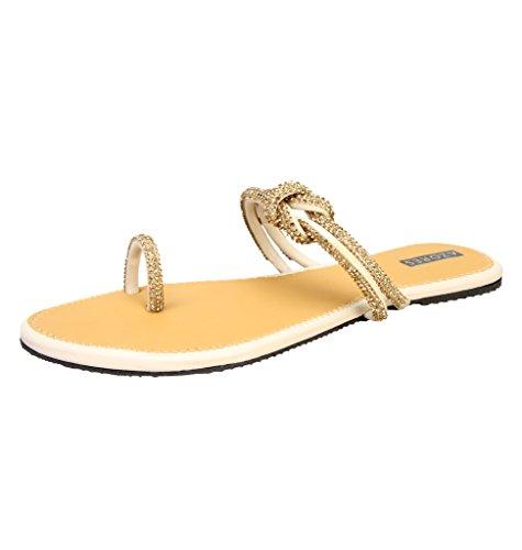 Azores Women's Casual PM Flats - Creame