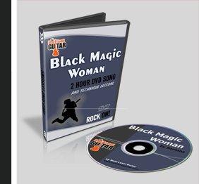 Guitar Lesson Black Magic Woman Santana
