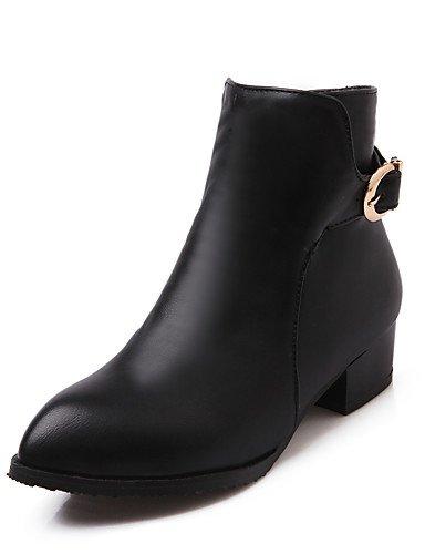 Schuhe Casual Winter Fr眉hjahr Damen Braun Ferse Outdoor Frauen Stiefel Fashion ShangYi Stiefel Mode Stiefel bek盲mpfen Herbst Schuhe Kunstleder CwqvZSU