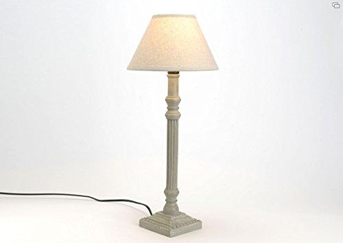 LAMPE GRI ALICE AJ LIN BEIGE