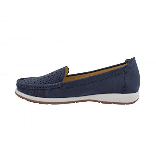 Benavente , Chaussures de ville à lacets pour femme Bleu Marine