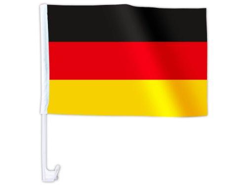 1 Stück WM Länder Auto Fahne Autoflagge Autofahne Fahne Auto Länderflagge Auto Fenster Flagge, wählen:AFL-01 Deutschland ...