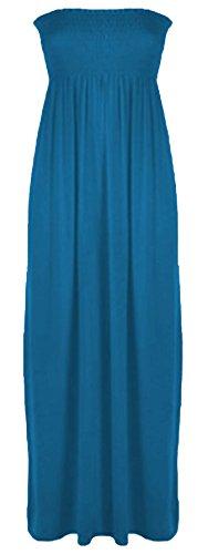 Vanilla Inc - Robe - Boule - Sans Manche - Femme noir * taille unique bleu sarcelle