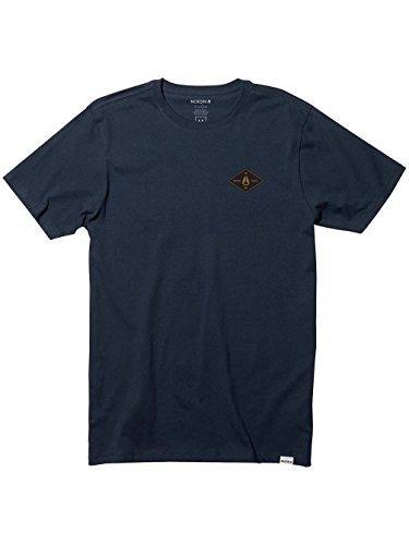 Herren T-Shirt Nixon Leeds T-Shirt Navy