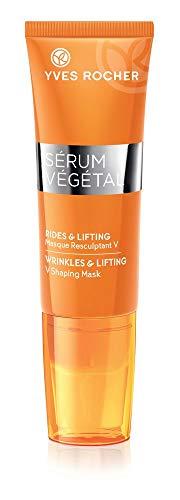 Yves Rocher SÉRUM VÉGÉTAL konturfestigende Maske, Anti-Aging Gesichtsmaske für neue...