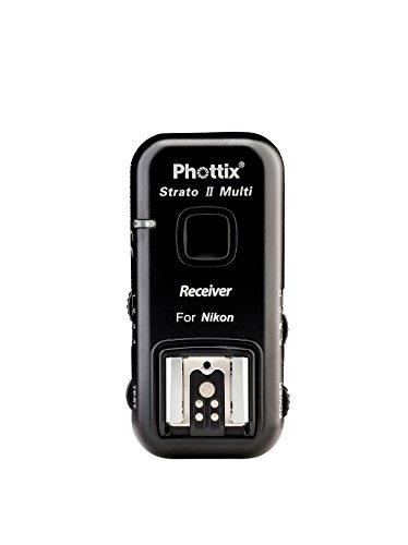 Phottix PH15657 Strato II Multi 5-in-1 Empfänger für Nikon Pocket Wizard Pc