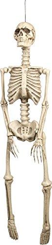 Décoration à suspendre squelette Halloween - taille - Taille Unique - 223462