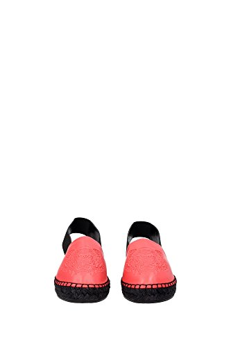K61165PL511ES18735 Kenzo Espadrilles Femme Cuir Rouge Rouge