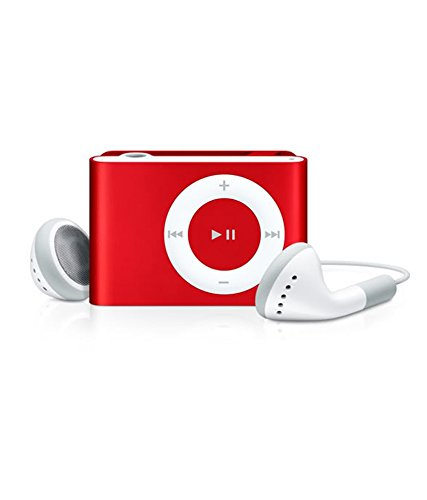 Captcha Stylish MP3 Player with FM Radio (Metal Body) (Red)