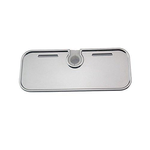 Idro Bric blicol0101me Étagère pour colonne de douche en ABS avec adaptateur, gris