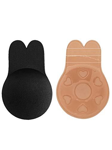 07c2cb1072b012 O'Loré Mujeres Sujetador Adhesivo ush-Up De Silicona Bra Invisible Adhesivo  Reutilizable sin