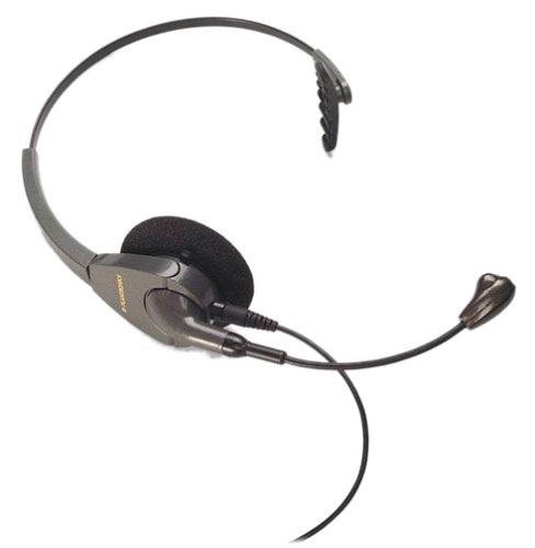 Plantronics H91N Encore® Monaural Noise-Canceling Headset (Wired, 20 - 20000 Hz, Monaural, Black) Wireless Monaural Voice Tube Headset