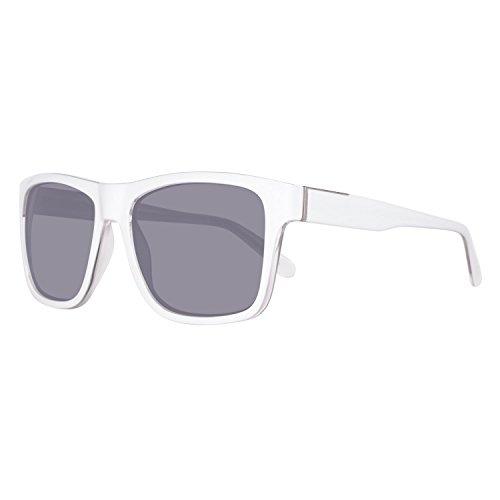 Guess Unisex-Erwachsene GU6882-5622A Sonnenbrille, Weiß (Blanco), 56