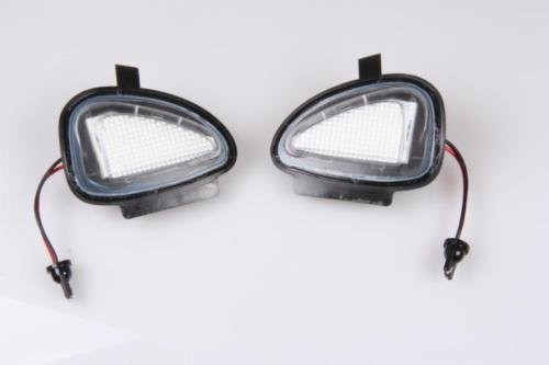 Preisvergleich Produktbild 2x TOP LED XENON Umfeldbeleuchtung Aussenspiegel Leuchte WEIß (180601)