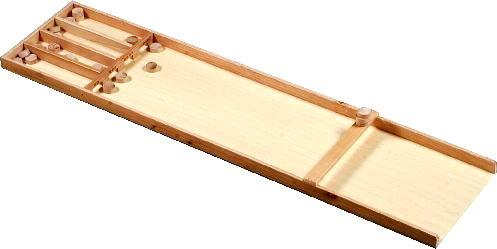 Dutch Shuffleboard Junior (Sjoelbak). Holz, 122cm - Sjoelbak Shuffleboard