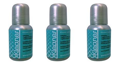 3 x Kleaner Lotion - gouttes désinfectantes pour éliminer toutes traces de toxines sur le corps...