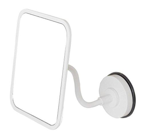 Installieren Bad Eitelkeit Licht (HAPPYMOOD Schminkspiegel Bad 360 Drehung Kosmetik Schminkspiegel Reise kompakt Wasserdicht klar Kein Rost)
