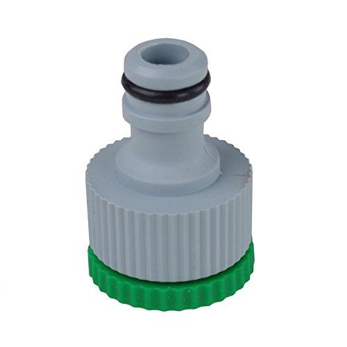 Tuyau de raccordement 1/2 '- 3/4'adaptateur de raccord pour robinet de jardin
