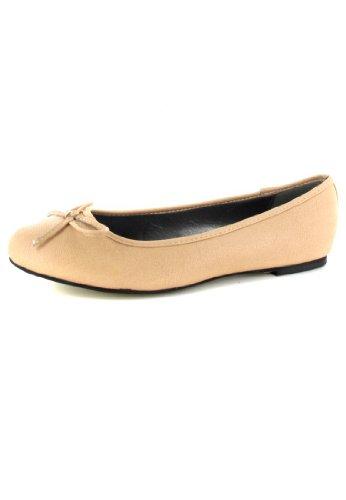 Bild von Andres Machado - Damen Ballerinas - Beige Schuhe in Übergrößen