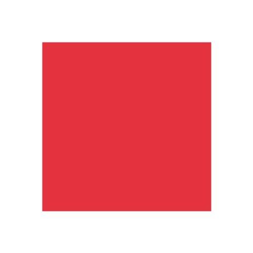 EFCO–Wachs Spannbetttuch, Licht Rot, 200x 100x 0,5mm, 2-teilig