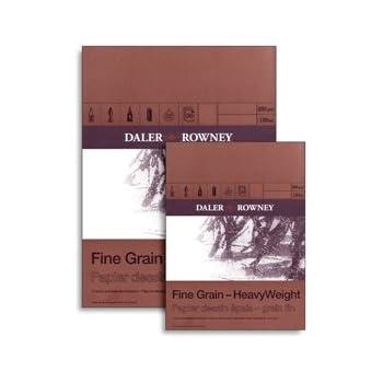 Daler-Rowney Heavyweight Zeichenblock A3, hohes Papiergewicht, feine A3