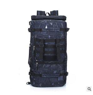 Mefly Militärischen Taktiken Rucksack Rucksack 50 L Für Männer Camouflage Reisen Große Kapazität Täglich Pack Umhängetaschen Für Frauen black style