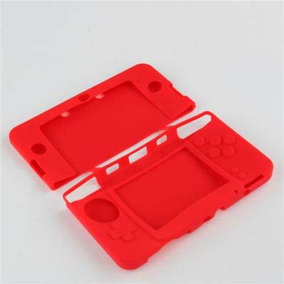 Gel-Schutzhülle für Nintendo 3DS XL LL, Silikon, Rot