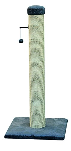 *Europet Bernina 431-408667 Classic-Eco Katzenkratzbaum Highpost, 40 x 40 x 90 cm, Farbe grau*