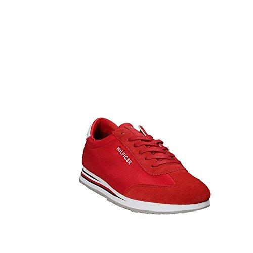 Tommy Hilfiger Uomo Scarpa Sportiva, Color Blu, Marca, modelo Uomo Scarpa Sportiva FM0FM01312 Blu Rosso
