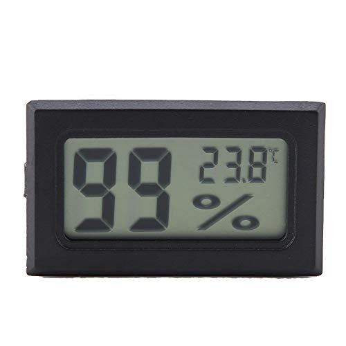 Digitaler Luftfeuchtigkeitsmesser YS-11 Wireless Indoor Thermometer LCD-Display Temperatur Feuchtemessgerät Hygrometer - Digital Wireless Lcd