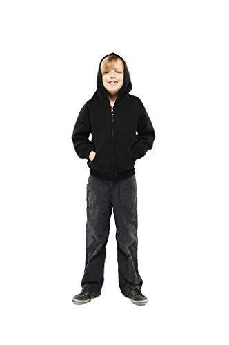 UC506 - Childrens Classic Full Zip Hooded Sweatshirt (300 GSM) - Bottle Green - Child 11/13