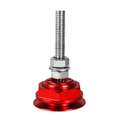 Leoboone Gugutogo Aluminum Alloy Mini Engine Hood Cover Lock Universal Push Button Billet Hood Pins Lock Clip Car Quick Latch for Auto Car -