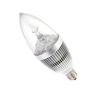 FDH 1pcs E14 15W LED de alta potencia de 120LM/2800-3500 6000-6500K/blanco cálido, blanco frío Lámparas de Vela AC 85-265 V