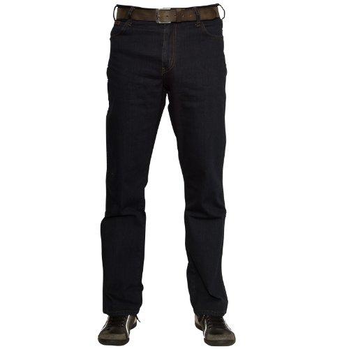 Wrangler Herren Texas Jeans, Blau-Schwarz, 40W / 30L (Fashion-jeans Schwarze)