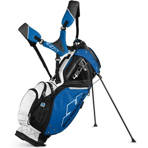 Sun Mountain Four5 Sac de Golf Mixte Adulte, Noir/Cobalt/Blanc