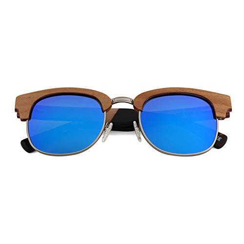 WDDP Polarisierte Sonnenbrille Herren- Und Damenbrille Mit Matter Vorderseite Und Polarisierten Gläsern,B