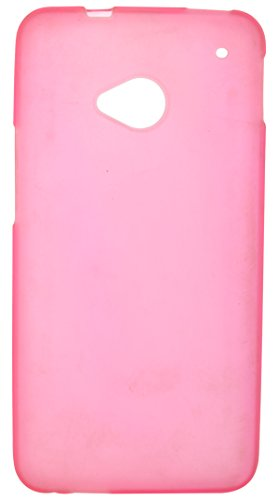 iCandy Back Cover for HTC One M7 (Pink)  available at amazon for Rs.109