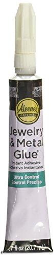 Aleene \'s Platinum Bond-Pegamento fuerza Industrial con joyas y metal 1.5oz