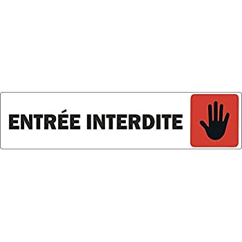 Autocollant sticker porte portail commerce bureau magasin for Autocollant porte wc