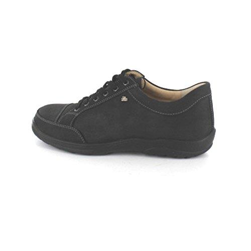 FinnComfort ALAMO 1288046099 hommes Chaussures à lacets Noir